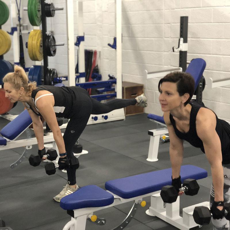 ladies personal training in hamble gym
